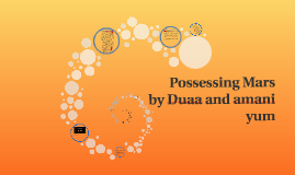 Possessing Mars