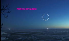 FESTIVAL DE VALORES