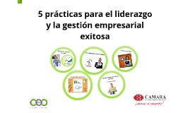Copy of Liderazgo y Gestión Empresarial Exitosa