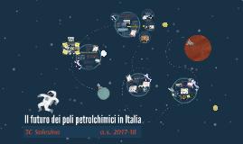 Il futuro dei petrolchimici in Italia