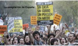 La emigración de España