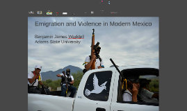 Emigration and Violence in Modern Mexico (OpenDem)