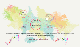 Adopting a Musical intelligence and e-learning approach to i