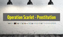 Operation Scarlet street prostitution
