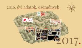 2016. évi beszámoló
