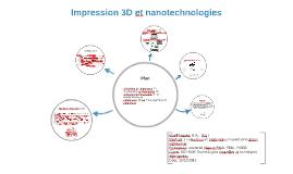 Impression 3D et nanotechnologies