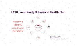 FY18 Local Behavioral Health Plan