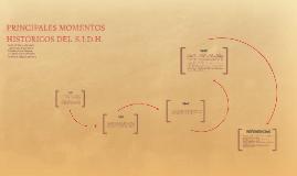 Momentos históricos del S.I.D.H.