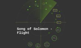 song of solomon essay on flight