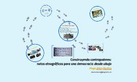 Construyendo contrapoderes: notas etnográficas para una demo