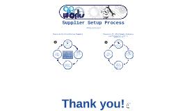 AP Works - Supplier Setup