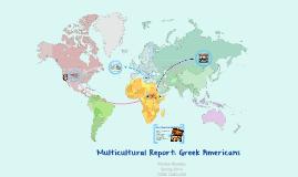 Multicultural Report