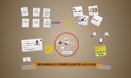 DESARROLLO CURRICULAR DE LAS CCSS