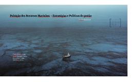 Poluição dos Recursos Marinhos
