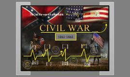 Copy of AMERICAN CIVIL WAR by Andie Urbina