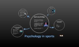 Psychology in sports