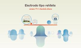 Electrodo tipo rehilete