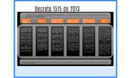 Decreto 1515 de 2013