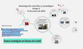 Investigación científica y tecnológica