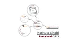 Copy of Presentación del Nuevo Portal del Instituto Sinchi 2012