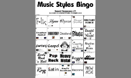Copy of Musical Styles