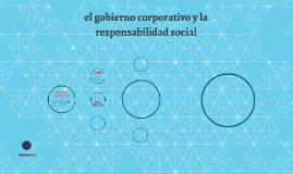el gobierno corporativo y la responsabilidad social