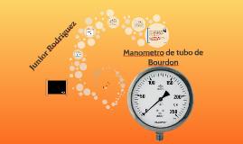 Copy of Manometro de tubo de Bourdon