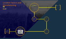Location Factors and Manufacturing