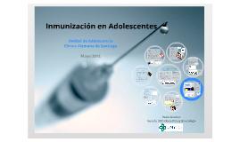 Inmunización en Adolescentes
