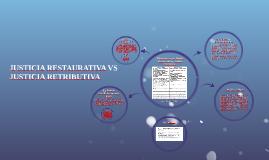 JUSTICIA RESTAURATIVA VS JUSTICIA RETRIBUTIVA