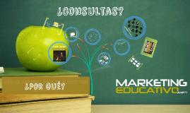 Copy of La importancia de las TICs en el Marketing Educativo