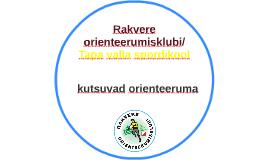 Rakvere orienteerumisklubi ja Tapa valla spordikool
