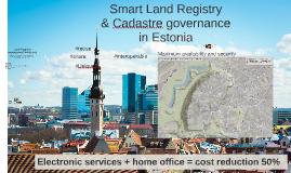 Land Cadastre and Land Registry presentation 2017
