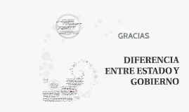 Copy of DIFERENCIA ENTRE ESTADO Y GOBIERNO