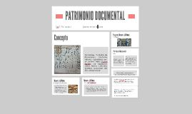 PATRIMONIO DOCUMENTAL