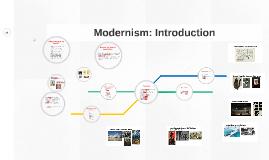 Modernism: Introduction