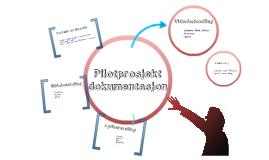 Pilotprosjekt dokumentasjon