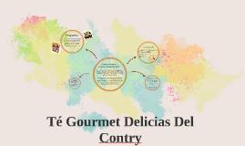 Té gourmet delicias del contry