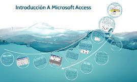 Introducción A Microsoft Access