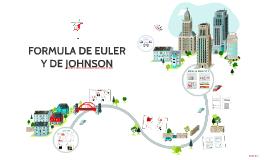 FORMULA DE EULER Y DE JOHNSON PARA COLUMNAS