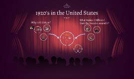 1920's in the United States
