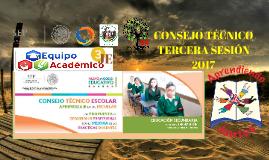 TERCERA SESIÓN ENTRE ESCUELAS 2017