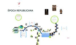 Copy of ÉPOCA REPUBLICANA