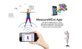 MeasureMEnt App