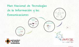 Plan Nacional de TIC Colombia