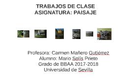 TRABAJOS DE CLASE