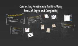 Connecting Reading & Writing to D&C