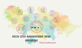 Delta Zeta Nominations 2015