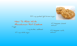 White Macadamia Nut Cookies III