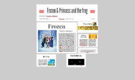 Frozen & Princess and the frog